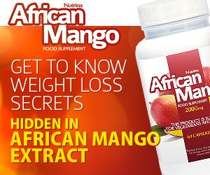 African Mango - strata váhy